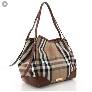 BURBERRY house check Canterbury tote